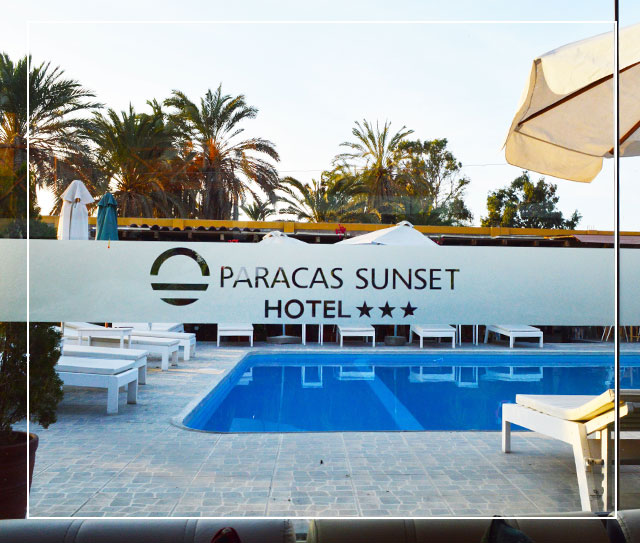 Paracas hotel sunset star ica peruvian rooms